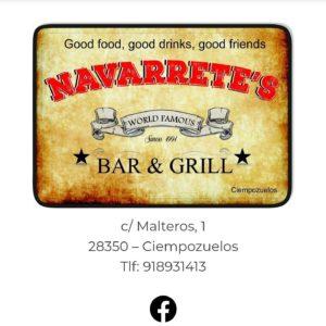 NAVARRETE'S BAR & GRILL