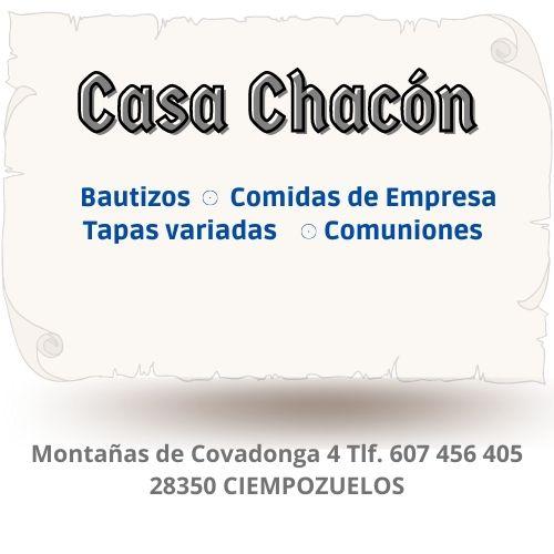 casa chacon restaurante ciempozuelos